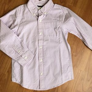 Gymboree Plaid Dress Shirt, size S (5-6)